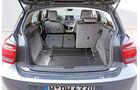 BMW 120d, Kofferraum