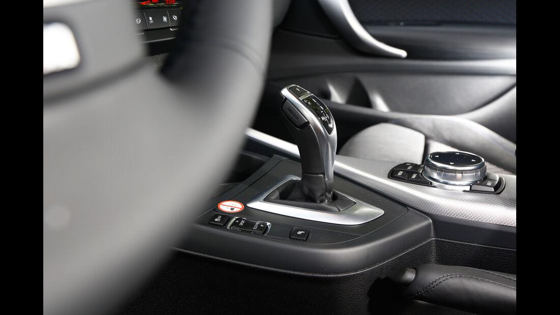 BMW 120d, Schalthebel
