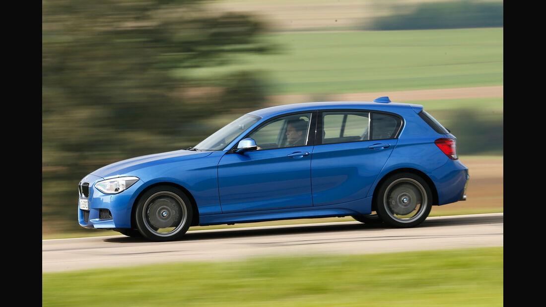 BMW 120d, Seitenansicht