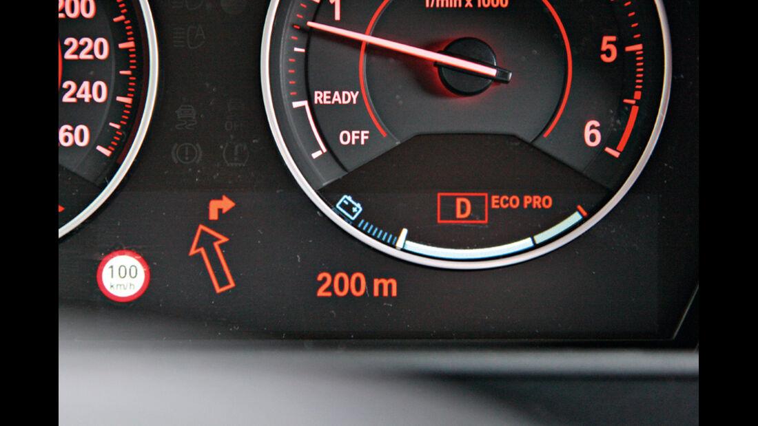 BMW 120d Sport Line, Detail, Rundinstrumente