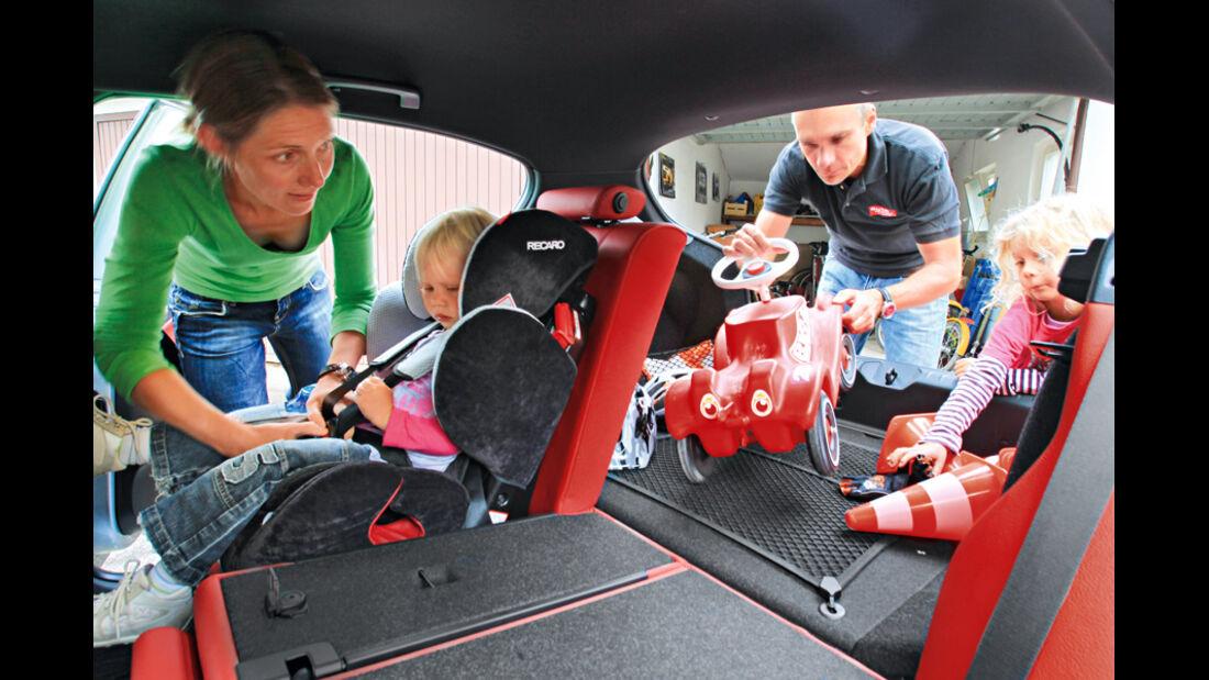 BMW 120d Sport Line, Kofferraum