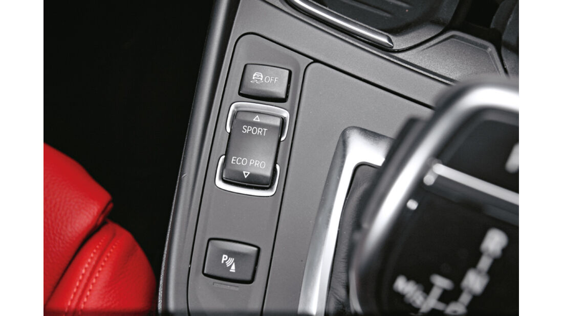 BMW 120d Sport Line, Schalter, Fahrmodi