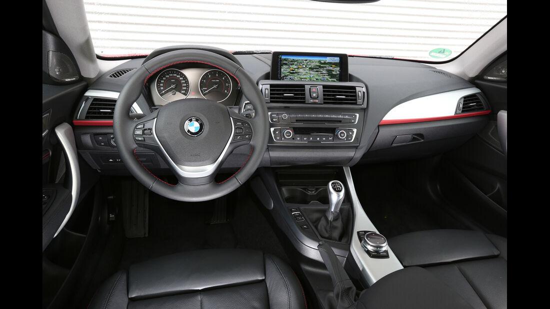 BMW 120d x-Drive, Cockpit