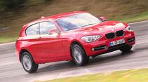 BMW 120d x-Drive, Frontansicht