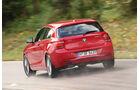 BMW 120d x-Drive, Heckansicht