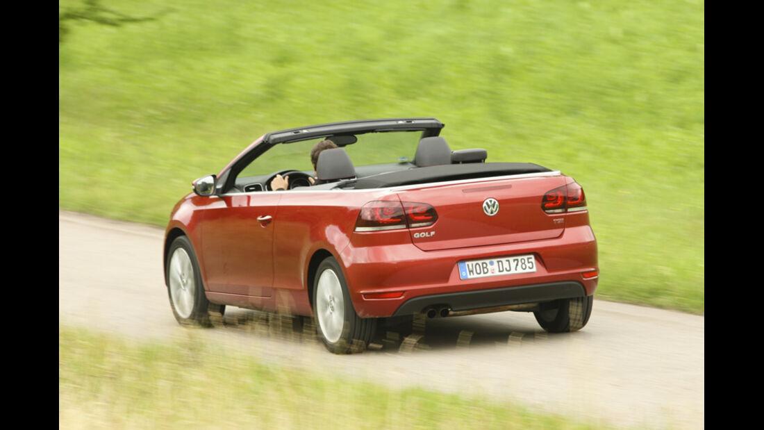 BMW 120i Cabrio, Heck, Rückansicht