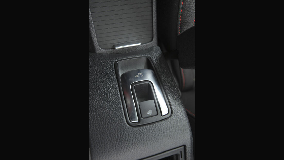 BMW 120i Cabrio, Schalter, Detail