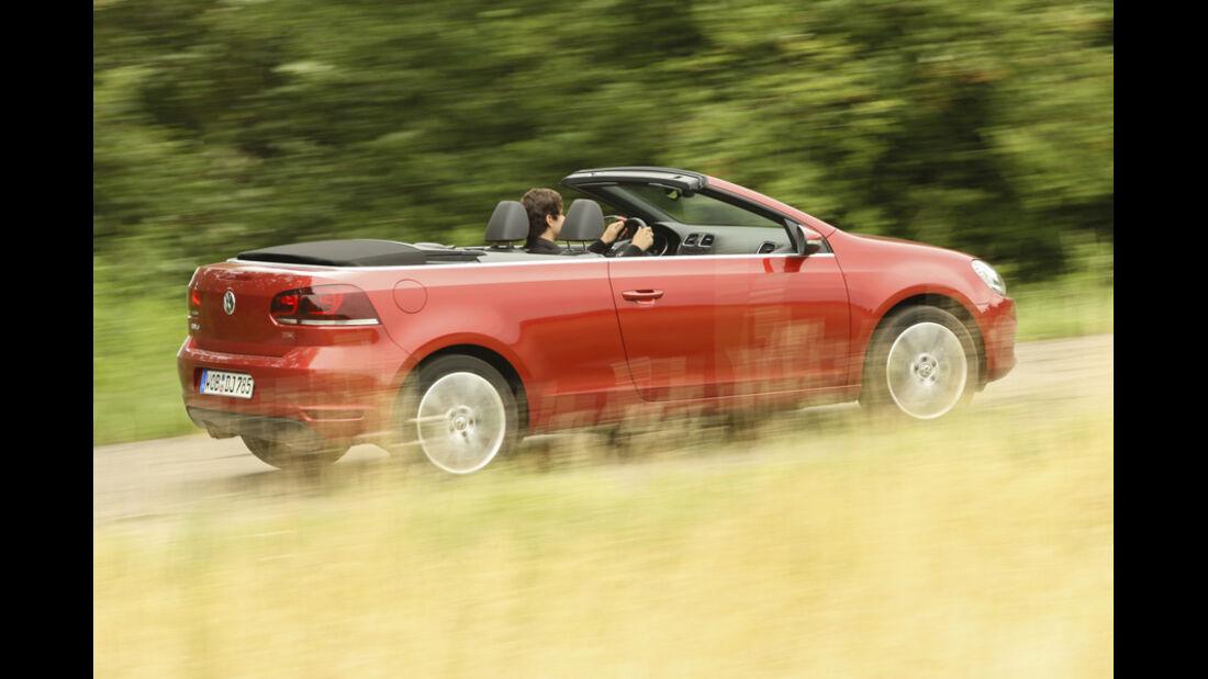 BMW 120i Cabrio, Seitenansicht