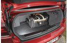 BMW 120i Cabrio, VW Golf Cabrio 1.4 TSI, Laderaum, Kofferraum