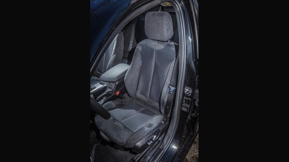 BMW 120i, Fahrersitz