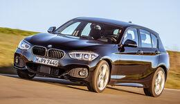 BMW 120i, Frontansicht