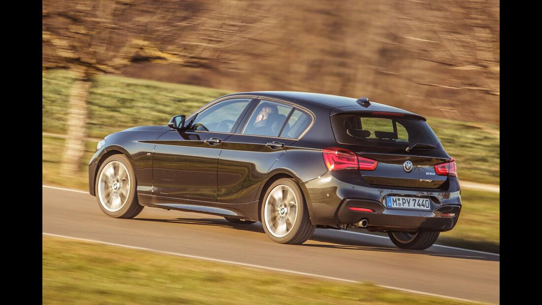 BMW 120i, Heckansicht