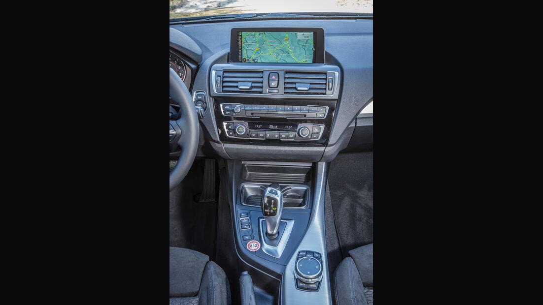 BMW 120i, Mittelkonsole