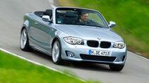 BMW 123d Cabriolet, Frontansicht
