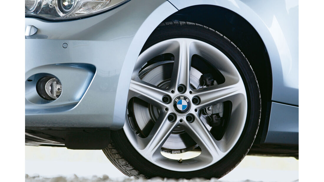 BMW 123d Cabriolet, Rad, Felge