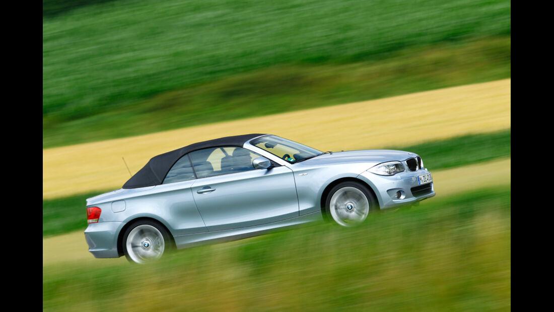 BMW 123d Cabriolet, Seitenansicht