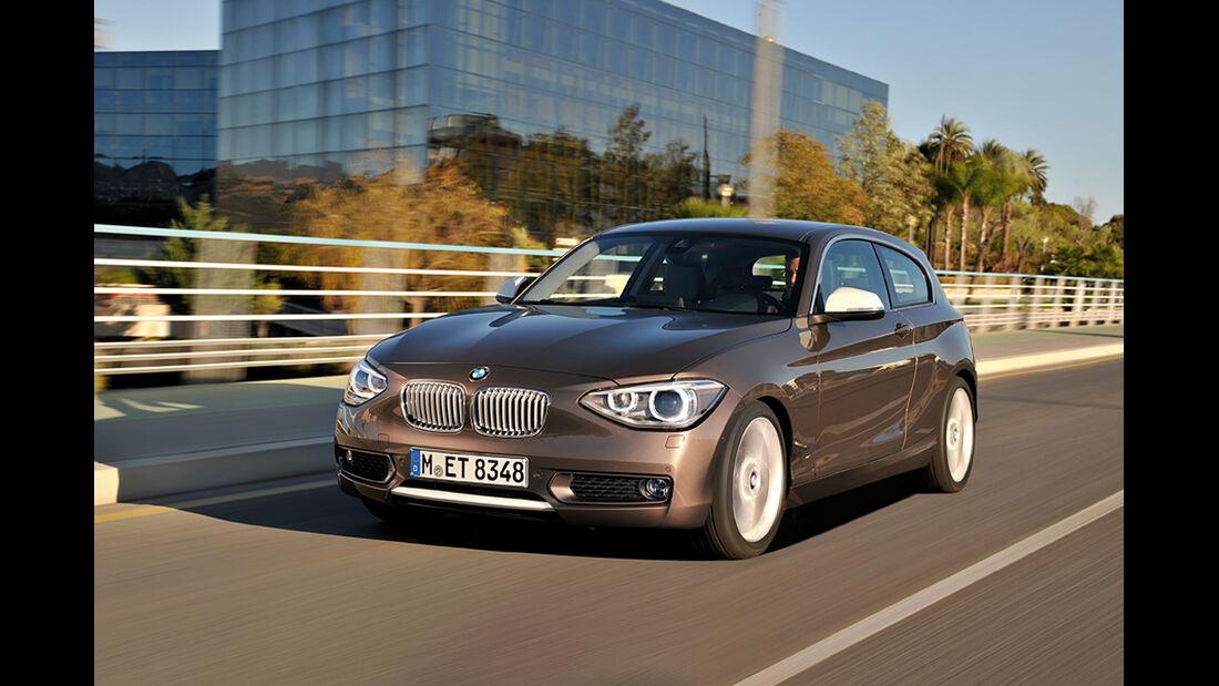 BMW 125d Dreitürer, Front
