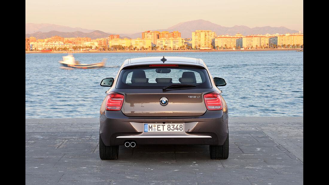 BMW 125d Dreitürer, Heck