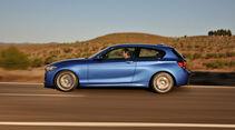 BMW 125d Dreitürer, Seitenansicht