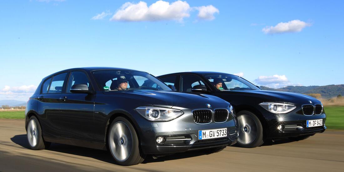 BMW 125i, BMW 125d, Frontansicht