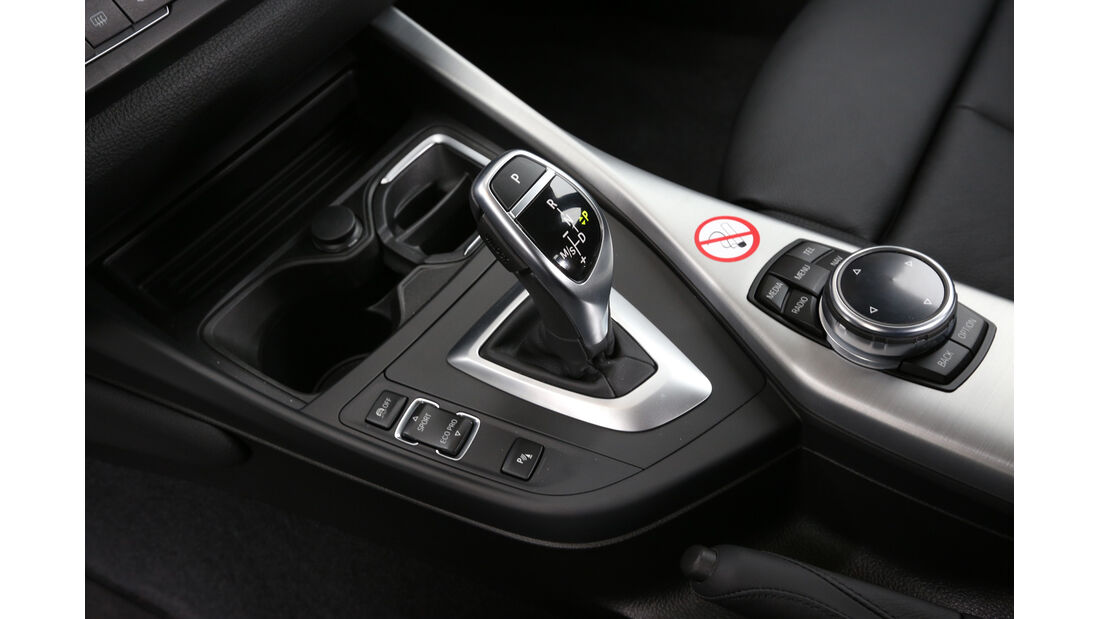 BMW 125i, BMW 125d, Schalthebel