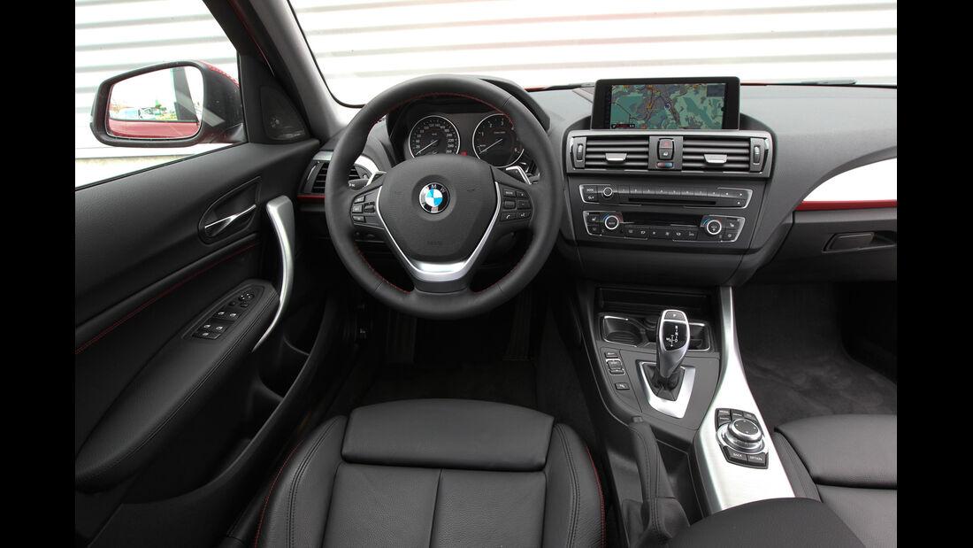 BMW 125i, BMW125d, Cockpit