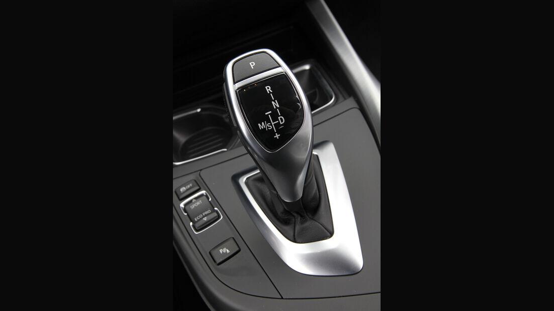 BMW 125i, BMW125d, Schalthebel, Automatik