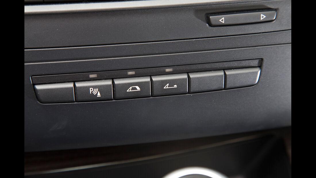 BMW 125i Cabrio, Bedienleiste