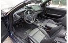 BMW 125i Cabrio, Cockpit, Lenkrad