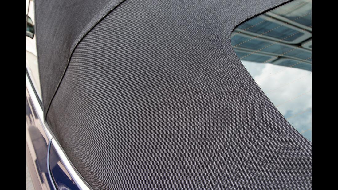 BMW 125i Cabrio, Verdeck