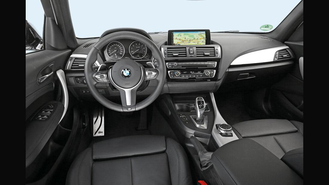 BMW 125i, Cockpit