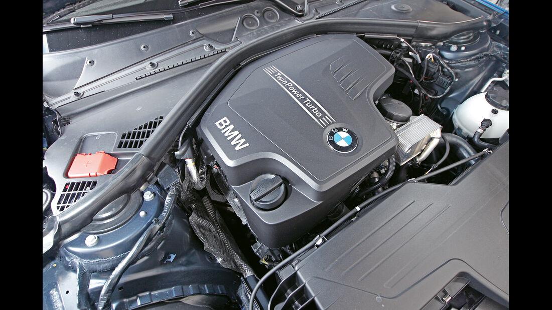 BMW 125i, Endrohre, Auspuff