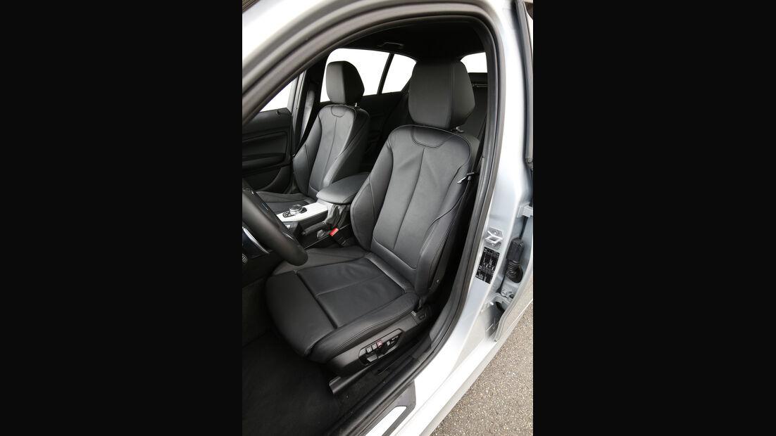 BMW 125i, Fahrersitz