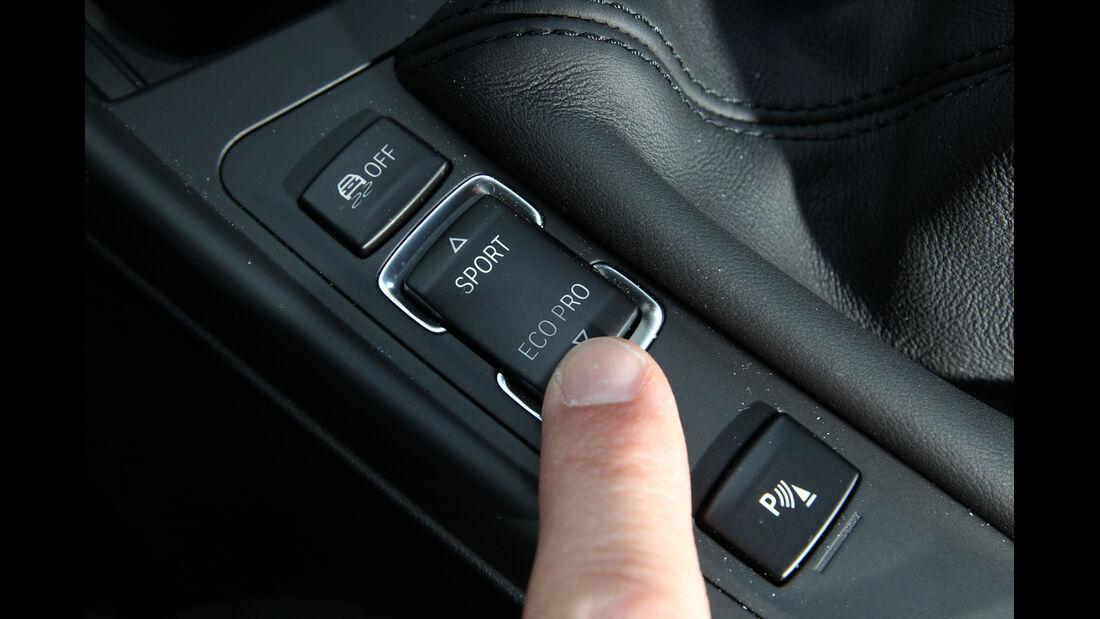BMW 125i, Fahrmodus