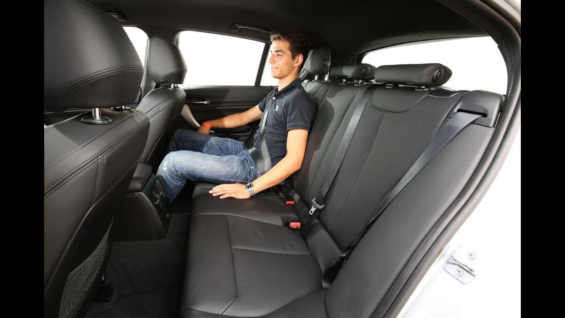 BMW 125i, Fondsitz