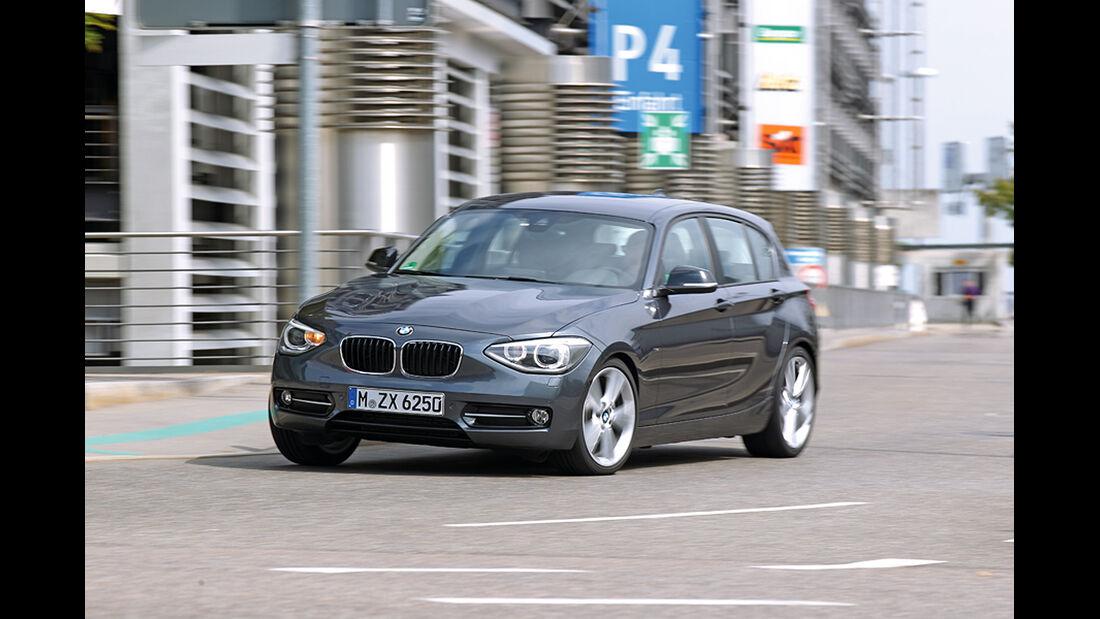 BMW 125i, Front