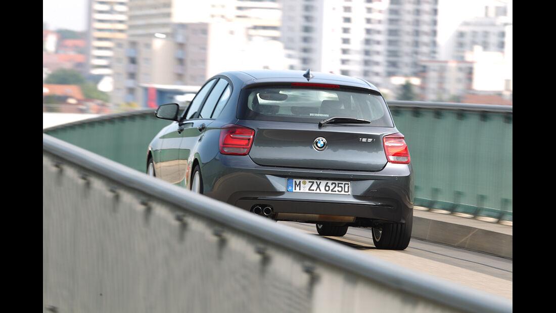 BMW 125i, Heck