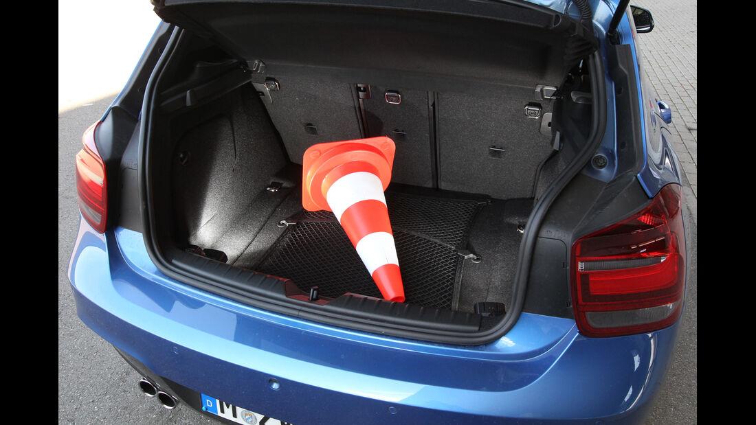 BMW 125i, Kofferraum