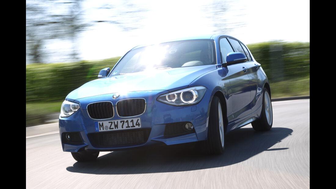 BMW 125i, Kurvenfahrt