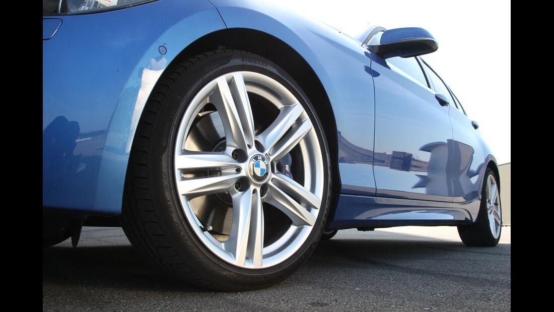 BMW 125i, Rad, Felge