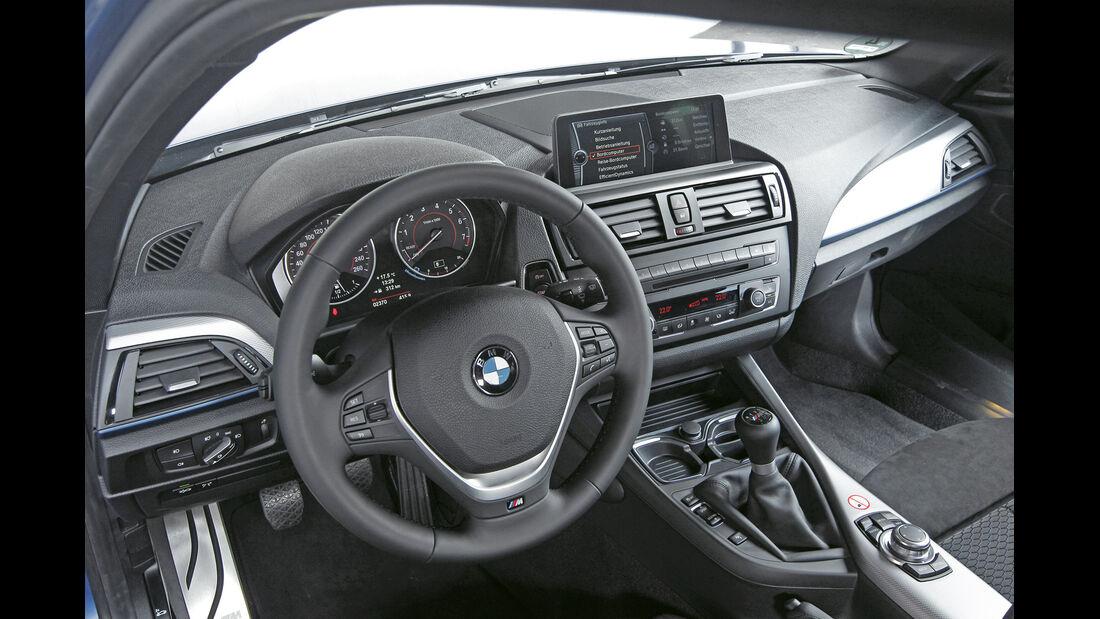 BMW 125i, Schaltknauf, Schalthebel