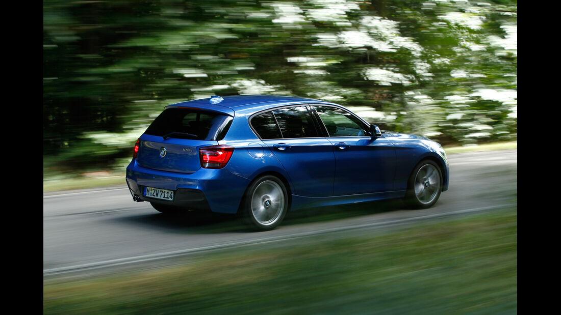 BMW 125i, Seitenansicht