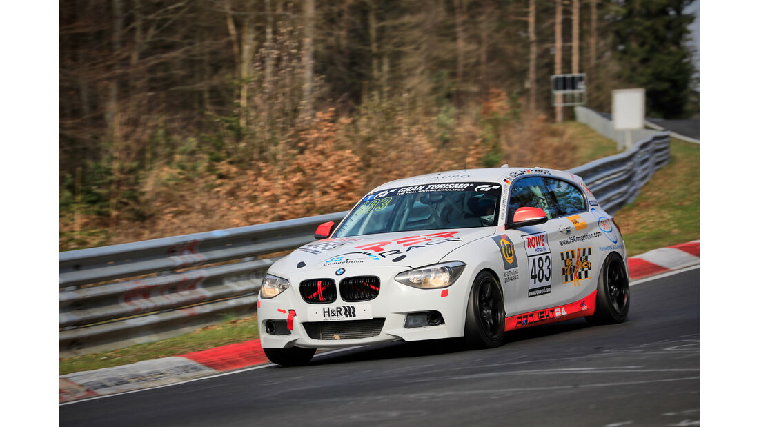 BMW 125i - Startnummer #483 - VT2 - NLS 2021 - Langstreckenmeisterschaft - Nürburgring - Nordschleife