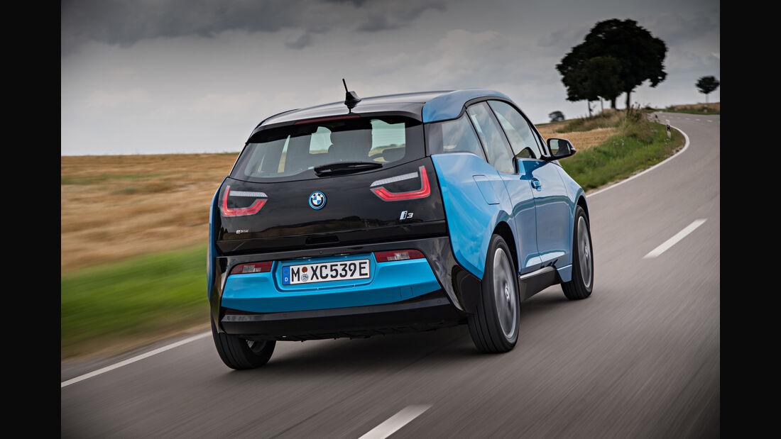 BMW 13 (94 Ah), Heckansicht