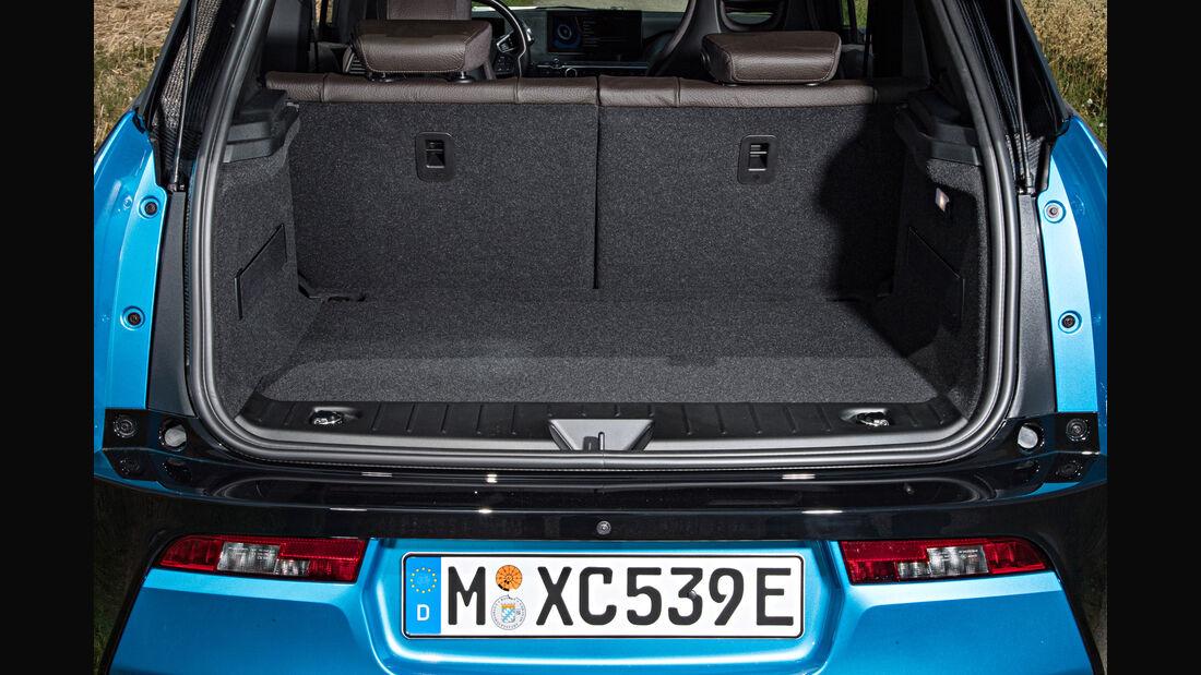 BMW 13 (94 Ah), Kofferraum