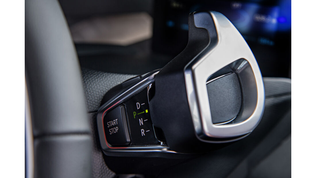 BMW 13 (94 Ah), Lenkrad, Bedienelemente
