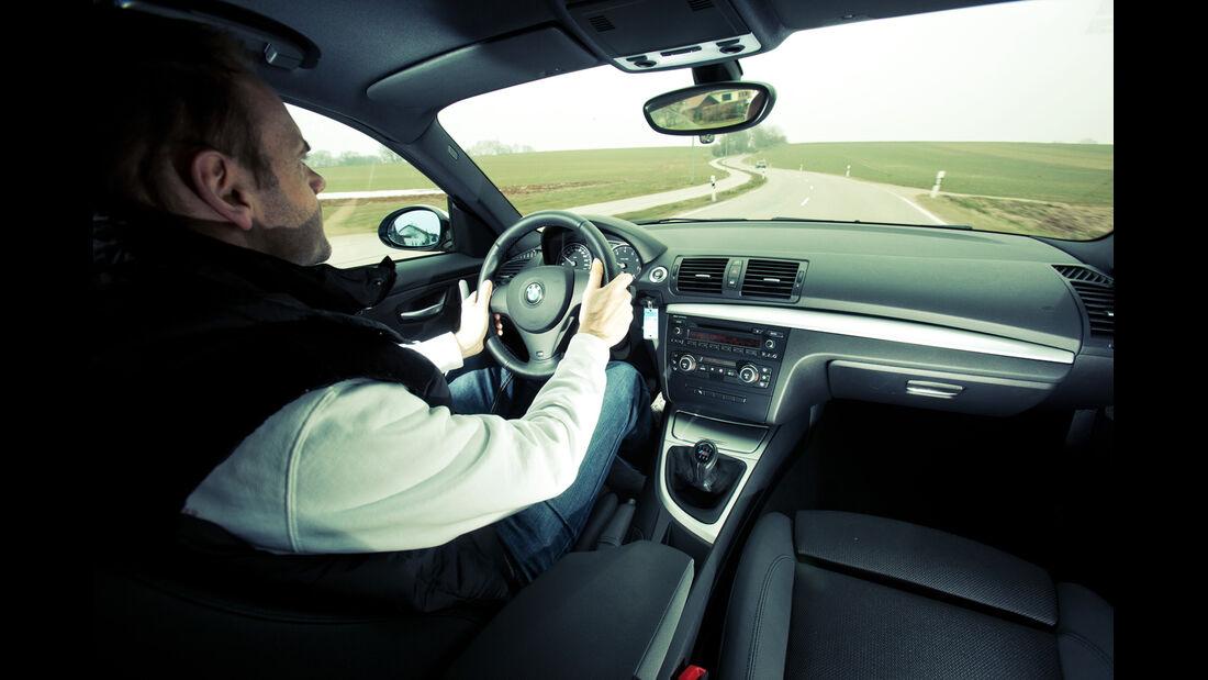 BMW 130i, Cockpit