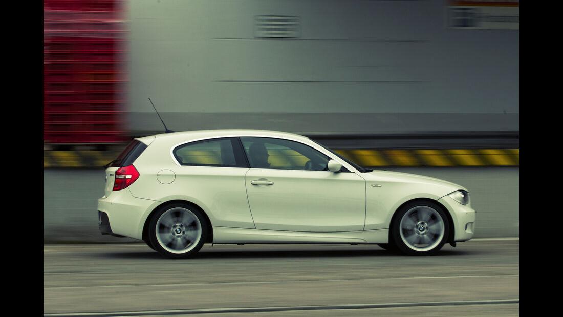 BMW 130i, Seitenansicht