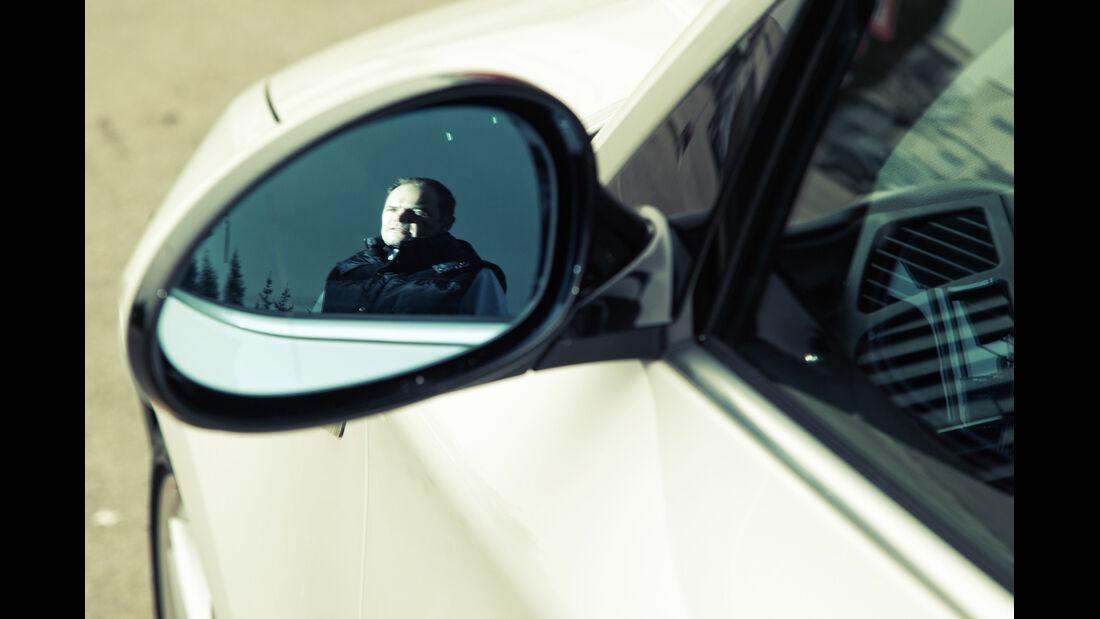 BMW 130i, Seitenspiegel