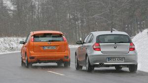 BMW 130i gegen Ford Focus ST 02